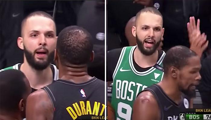 Début d'embrouille entre Evan Fournier et Kevin Durant ! NBA