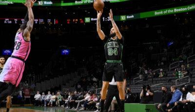 NBA – En feu, Evan Fournier claque son meilleur match à Boston !