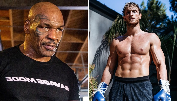 Mike Tyson et Logan Paul