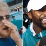 Fight – Jake Paul explique pourquoi il a volé la casquette de Mayweather