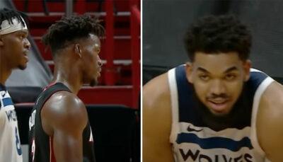 NBA – Butler et Towns s'embrouillent, KAT l'humilie avec un trash-talking explosif