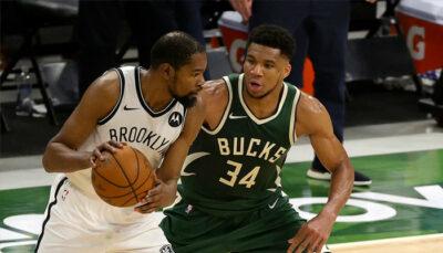 NBA – Giannis montre le respect ultime à KD après leur duel épique