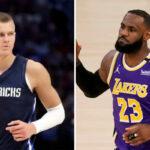 NBA – Kristaps Porzingis sanctionné, énorme polémique avec LeBron !