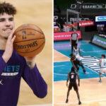 NBA – LaMelo régale encore avec une passe monstrueuse !