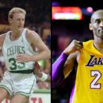 NBA – Quand Larry Bird se mettait à genou devant Kobe Bryant