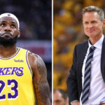 NBA – La phrase de Steve Kerr qui ne va pas plaire à LeBron