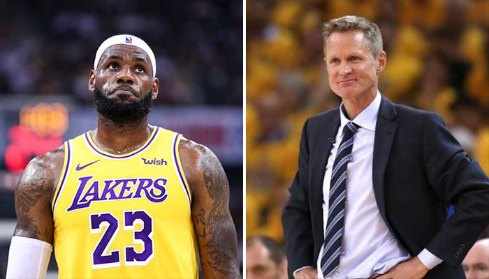 La phrase de Steve Kerr qui ne va pas plaire à LeBron NBA