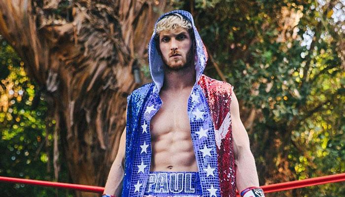 Logan Paul en tenue de combat