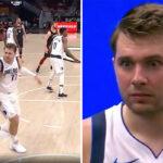 NBA – Luka Doncic expulsé pour avoir frappé Sexton, il n'en revient pas !