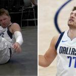 NBA – Inquiétude à Dallas après la chute de Luka Doncic