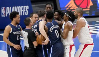 NBA – Début d'embrouille entre Luka Doncic et Patrick Beverley !