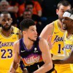 NBA – Un Laker demande une suspension pour Devin Booker !