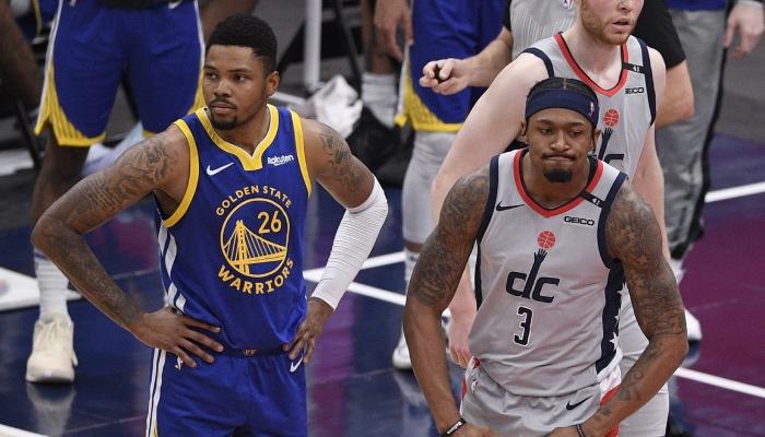 L'arrière des Golden State Warriors, Kent Bazemore, a répondu à la star des Washington Wizards, Bradley Beal, qui n'avait pas apprécié sa mauvaise blague le concernant