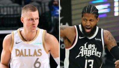 NBA – Porzingis répond à PG et envoie un gros avertissement aux Clippers