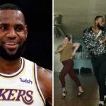 NBA – LeBron inaugure un nouveau personnage… et enflamme le pays !
