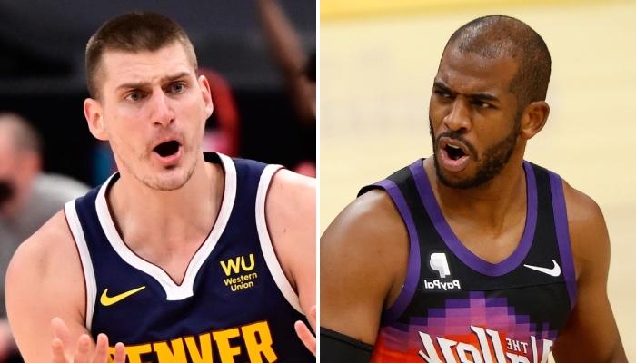 L'intérieur star des Denver Nuggets, Nikola Jokic, et le meneur émérite des Phoenix Suns, Chris Paul, choqué par la déclaration d'un de leurs pairs en NBA, affirmant qu'un joueur des New York Knicks serait tout aussi favori qu'eux pour le titre de MVP