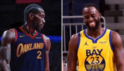 NBA – Kawhi à Golden State ? La réaction géniale de Draymond Green