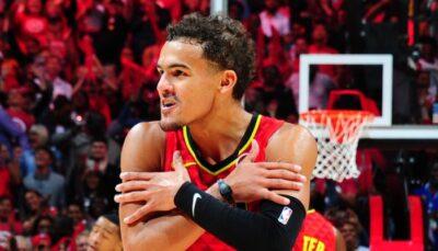 NBA – La réaction de Trae Young après sa prolongation  XXL