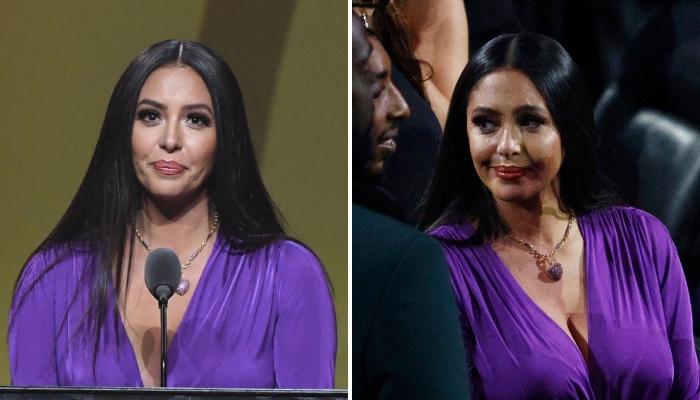 Vanessa Bryant, la veuve de la légende NBA des Los Angeles Lakers, Kobe Bryant, aurait-elle menti durant son discours d'intronisation au Hall Of Fame ?