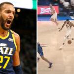 NBA – Rudy Gobert ridiculisé par ses propres coéquipiers après son moment Shaq'tin !