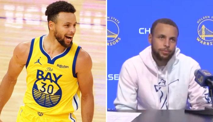 L'hilarante réaction de Steph Curry à un potentiel matchup contre les Lakers NBA