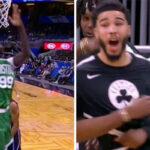 NBA – Tacko Fall met le feu avec une séquence absolument folle !