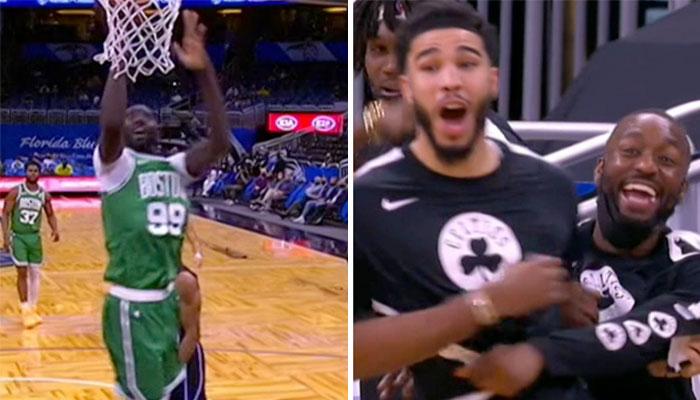 Tacko Fall met le feu avec une séquence absolument folle ! NBA