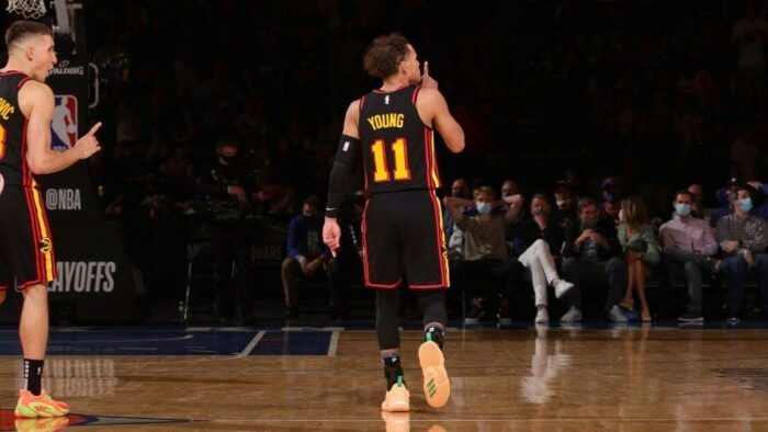 Trae Young fait taire le Madison Square Garden