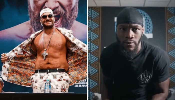 Tyson Fury a fait passer un message fort à Deontay Wilder
