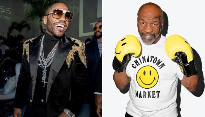 Mie Tyson et Floyd Mayweather tout sourire