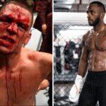 UFC – De retour, Nate Diaz envoie un tacle sauvage à Leon Edwards !