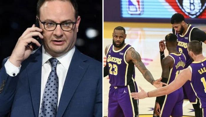 NBA Le Woj parle de l'intersaison des Lakers