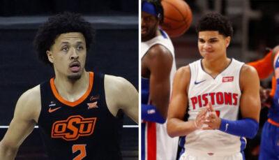 NBA – Annoncé Top 1, la réaction virale de Cade Cunningham à sa future Draft aux Pistons