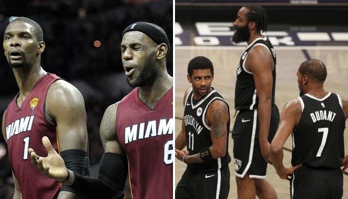 NBA La grosse décla de Bosh sur les Nets