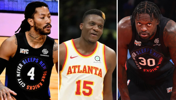 NBA Les Knicks réagissent à Clint Capela