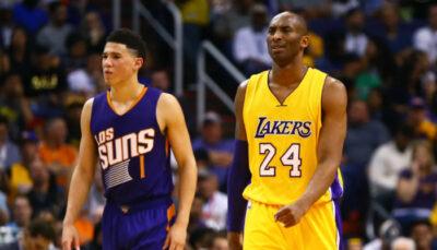 NBA – Les propos de Kobe sur Booker après son ultime match contre lui