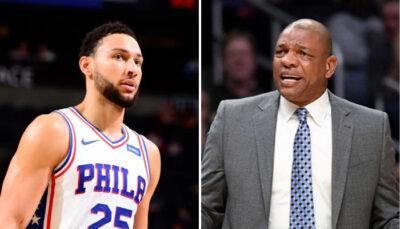 NBA – Doc Rivers tranche sur l'avenir de Ben Simmons aux Sixers !