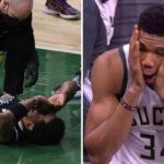 NBA – « Giannis qui aurait fait mal à Kyrie exprès ? C'est absurde »