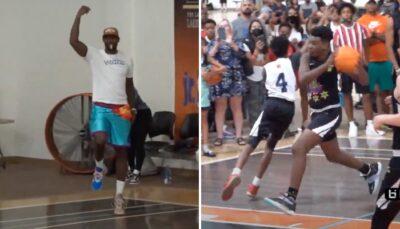 NBA – LeBron James affolé par le move incroyable de son fils Bryce !