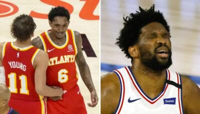 NBA – Le troll ultime et provocateur de John Collins envers… Joel Embiid !