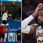 NBA – Un prospect pilonne le record de détente du NBA Combine, les images dingues !