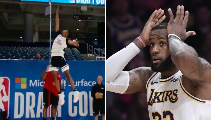 Keon Johnson a pulvérisé le record de détente en NBA avec 1m22