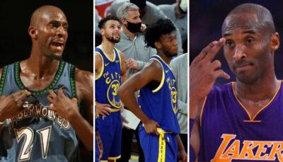 NBA – La comparaison osée entre un Warrior et… Kevin Garnett et Kobe Bryant !