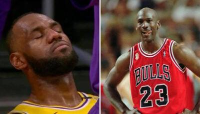 NBA – « LeBron a encore perdu face à Michael Jordan »