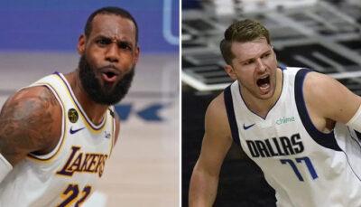 NBA – Première all-time dingue de Luka hier, devant LeBron !