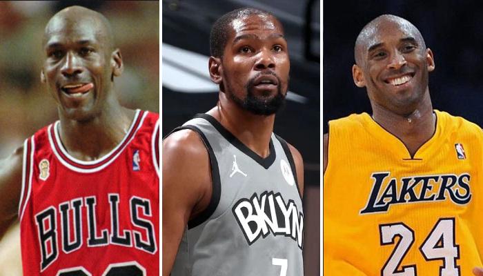 NBA MJ, KD et Kobe