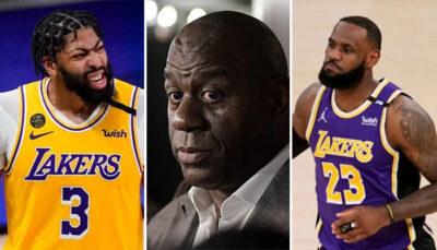 NBA – Magic Johnson recadre Davis et donne un gros conseil à LeBron