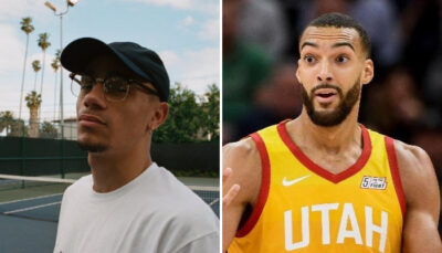 NBA – Le message de Yvick (Mister V) pour Rudy Gobert !