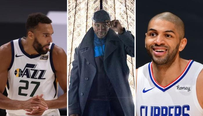 NBA Omar Sy, Batum et Gobert
