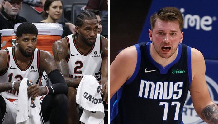 NBA Les mots de Kawhi et PG pour Luka Doncic